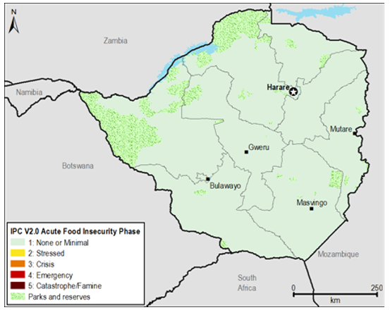 Current food security outcomes, January 2015.