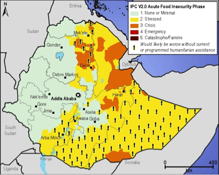 Current food security outcomes, October 2012