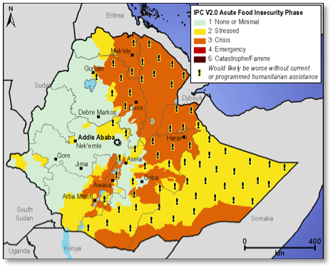 Current food security outcomes, April 2013