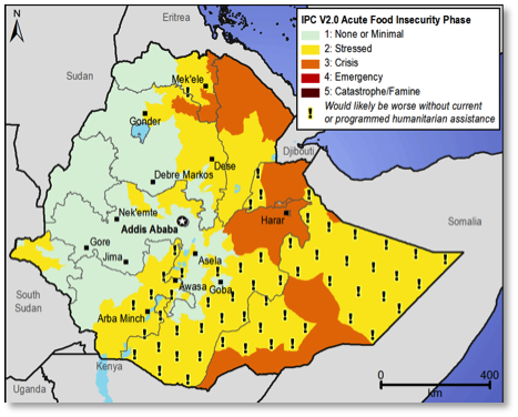 Current food security outcomes, January 2013