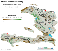 NDVI (Normalized Difference Vegetation Index), June 1- 10, 2013
