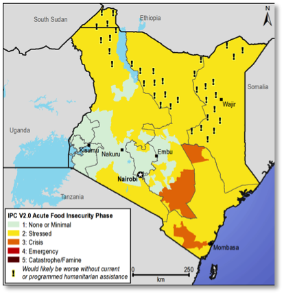 Current food security outcomes, December 2012