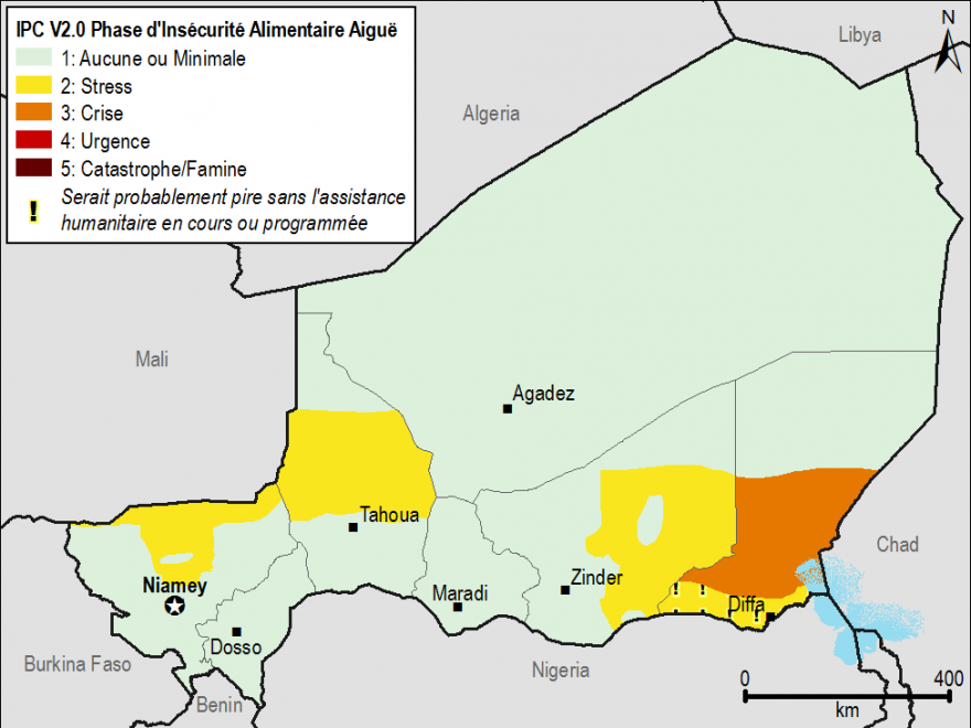 Current food security outcomes for April 2015