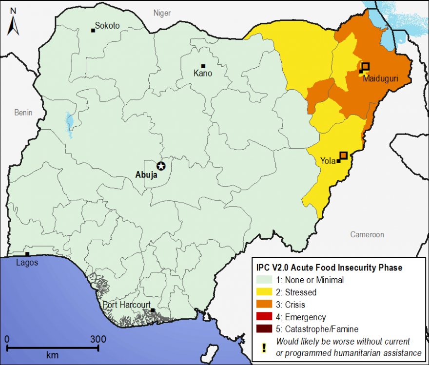 Current food security outcomes, April 2015