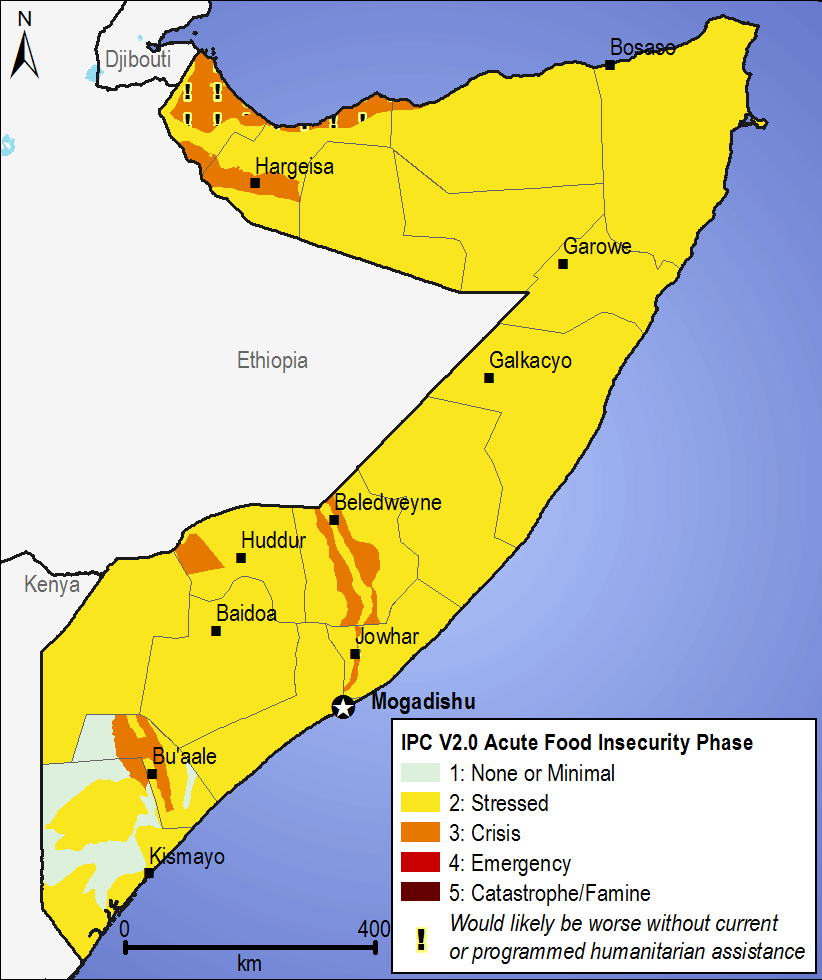 Current food security outcomes, October 2015