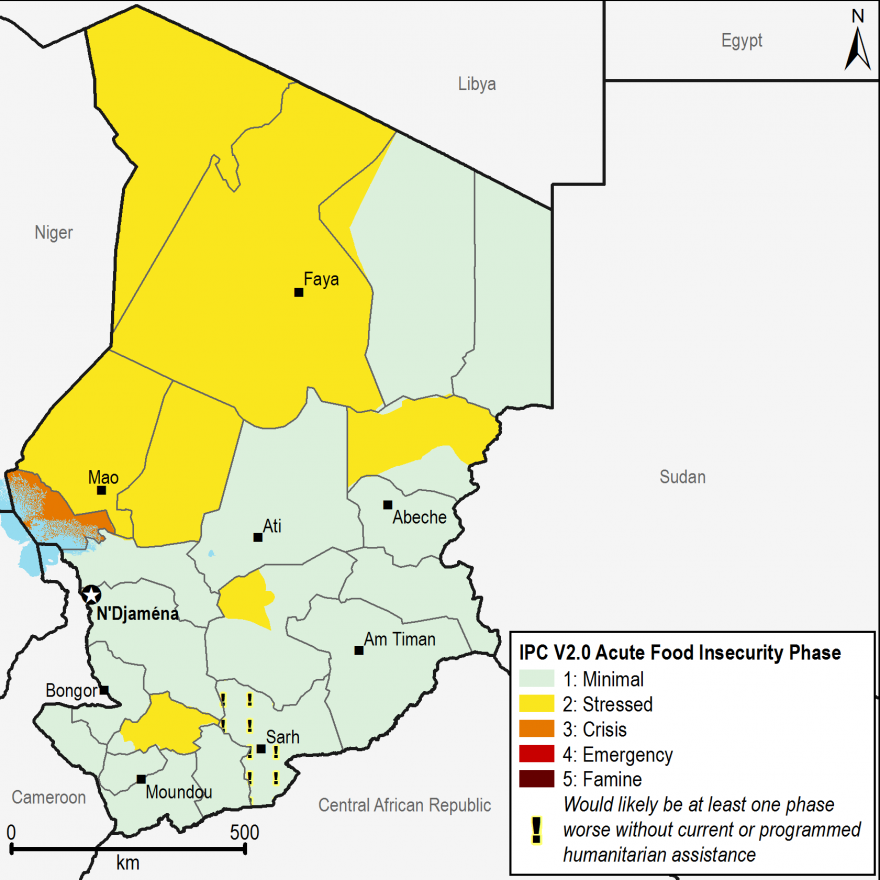 Current food security outcomes, February 2017