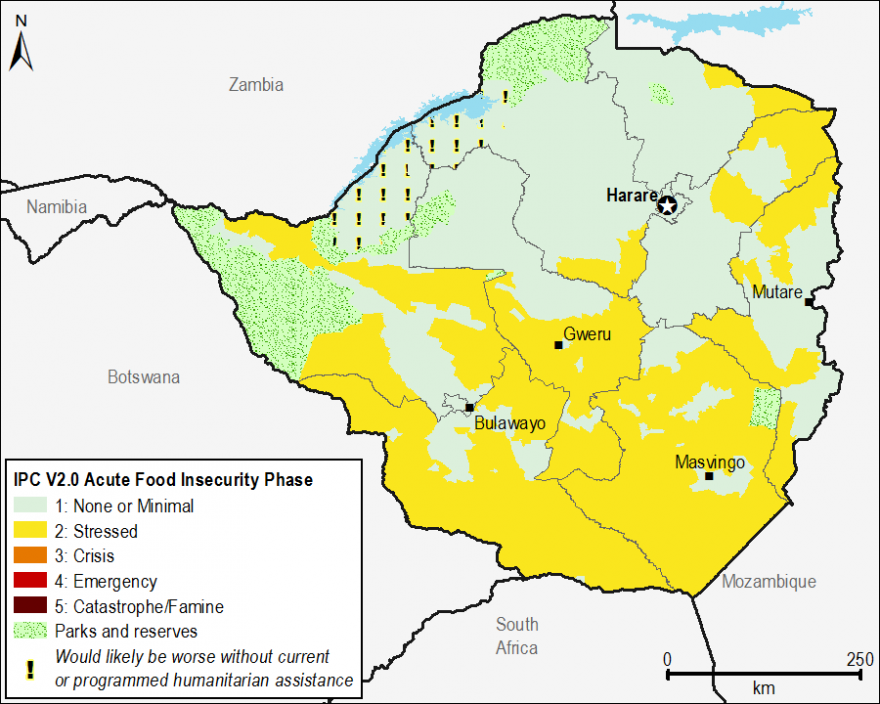 Current food security outcomes, April 2015.
