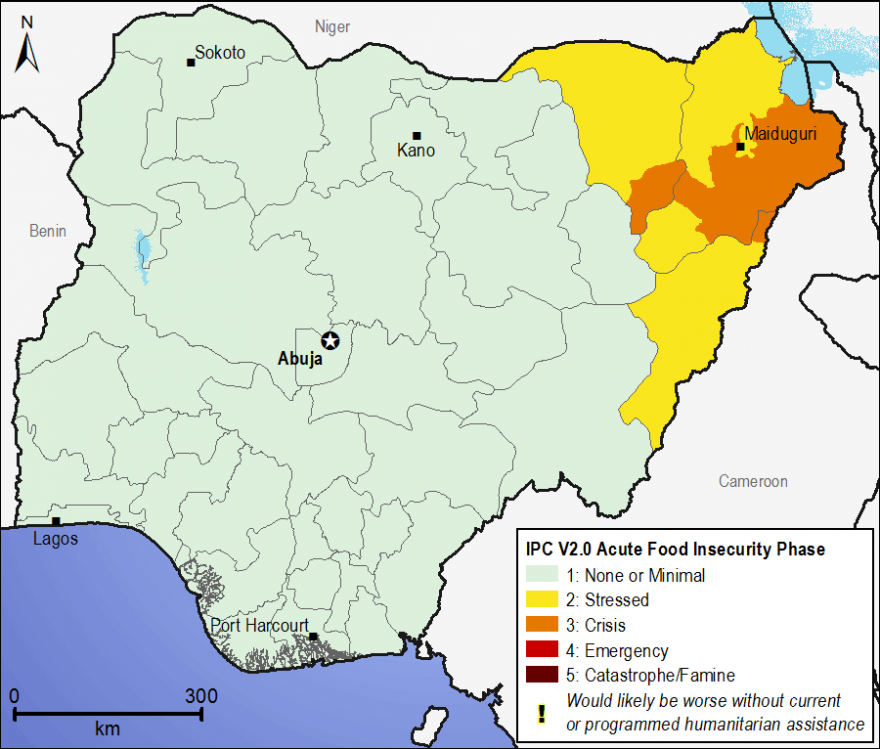 Current food security outcomes, January 2015