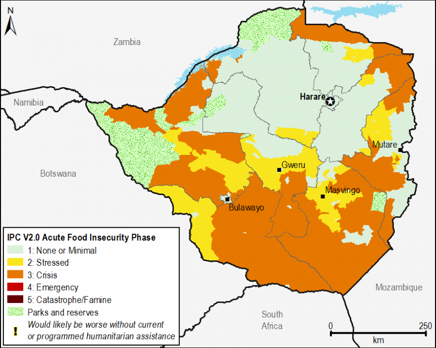 Current acute food security outcomes, October 2015