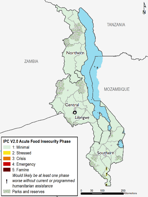 Current food security outcomes, February 2018.