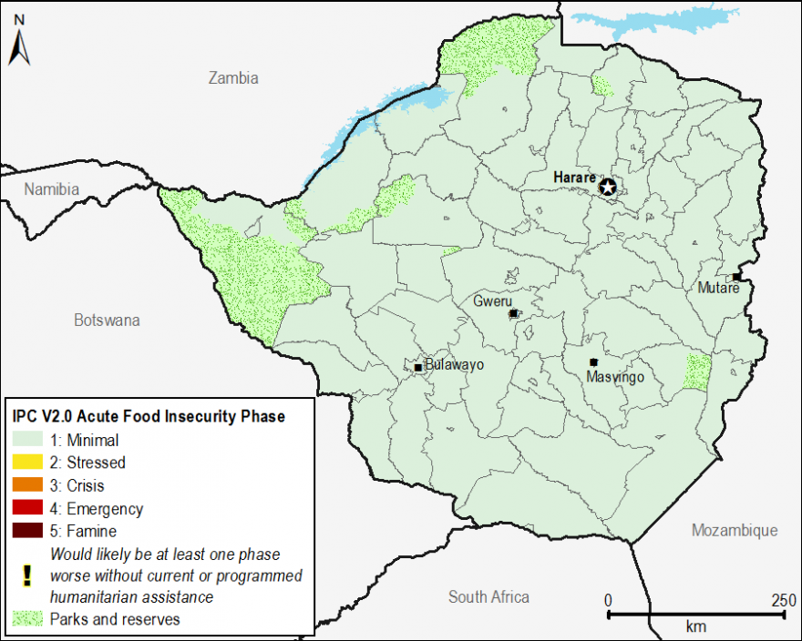 Current food security outcomes, June 2017