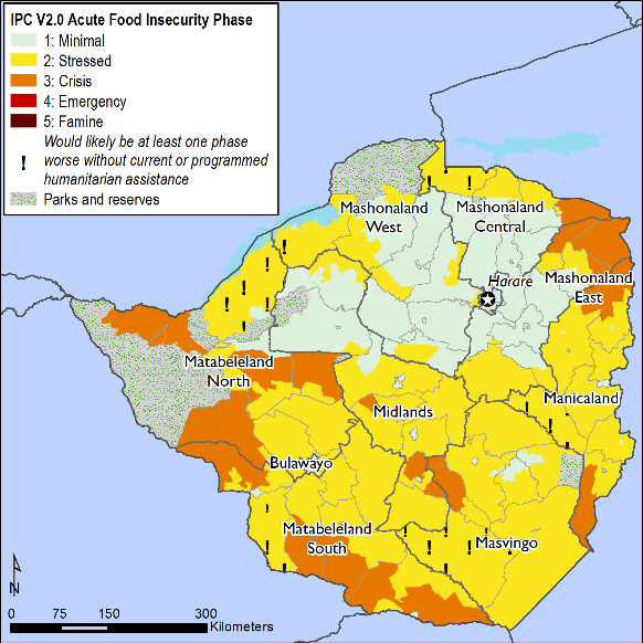 Current food security outcomes, February 2018