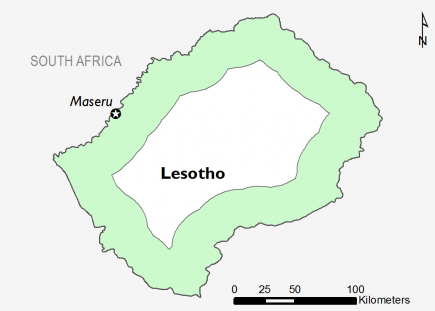 Lesotho July 2017 Food Security Projections for July to September