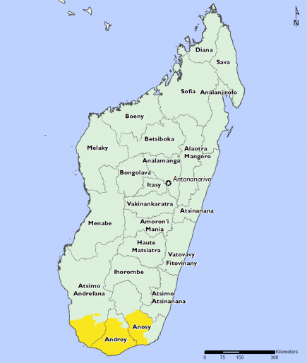 Madagascar December 2016 Food Security Projections for February to May