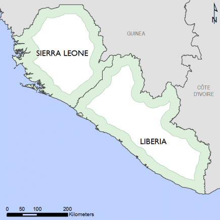 Sierra Leone and Liberia phases 1