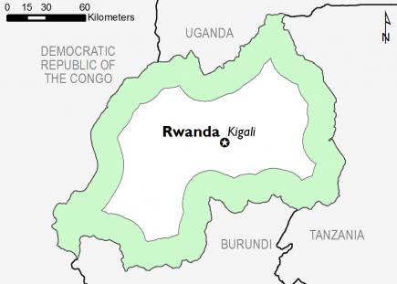 Rwanda January 2017 Food Security Projections for February to May