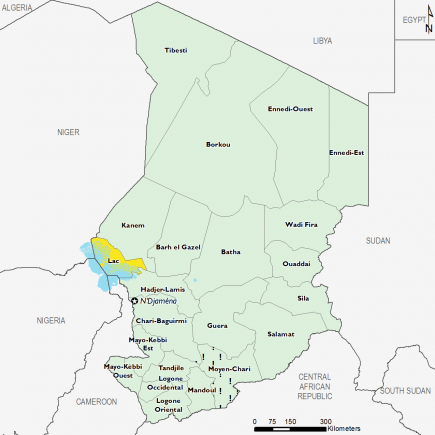Chad December 2016 Food Security Projections for December to January