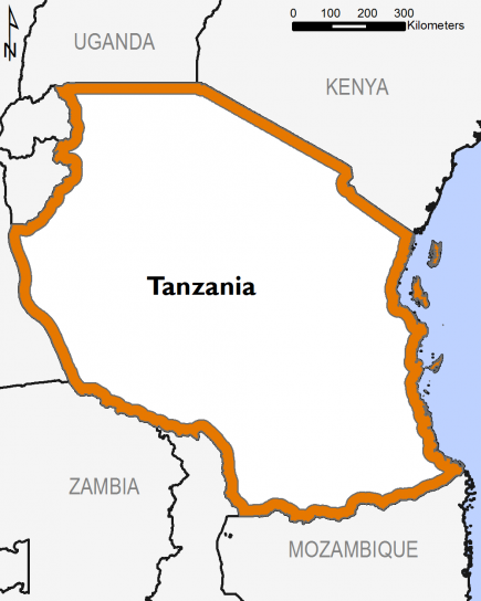 Tanzania January 2017 Food Security Projections for February to May