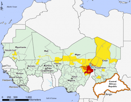 West Africa, Food Security, February 2017 to May 2017