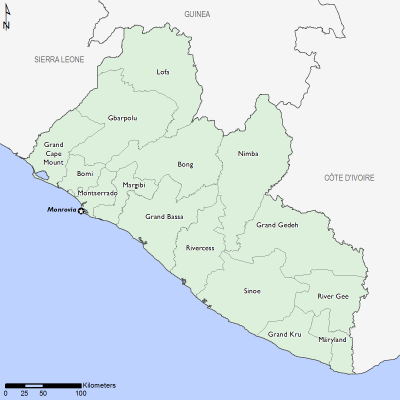 Liberia April 2017 Food Security Projections for April to May