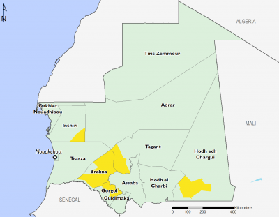 Mauritania September 2017 Food Security Projections for September