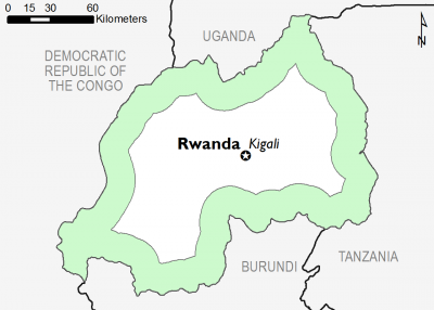 Rwanda June 2017 Food Security Projections for October to January
