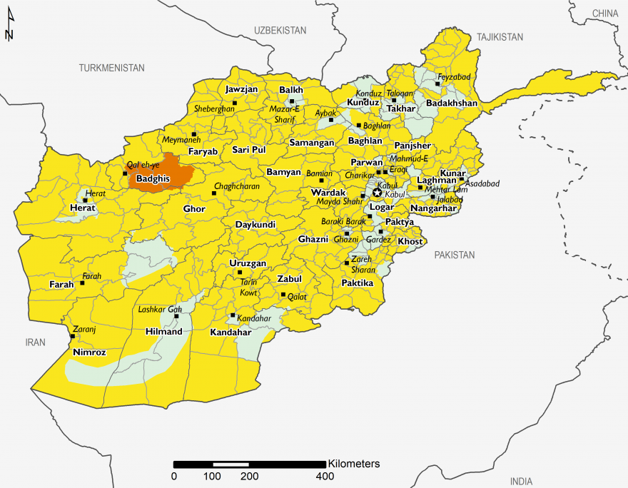 Afghanistan - Food Security Outlook: Fri, 2019-06-28 to Tue