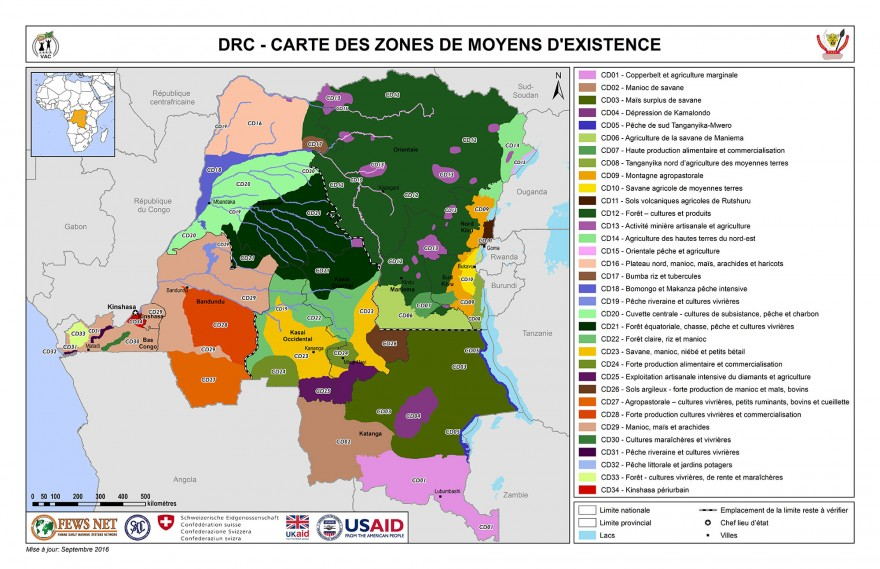 Democratic Republic of Congo Famine Early Warning Systems Network