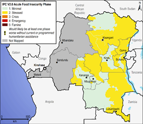 Current food security outcomes, December 2016