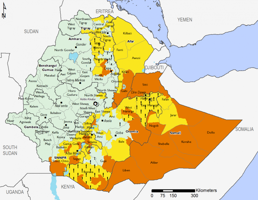 Ethiopia - Food Security Outlook: Tue, 2017-02-28 to Thu, 2017-09-28