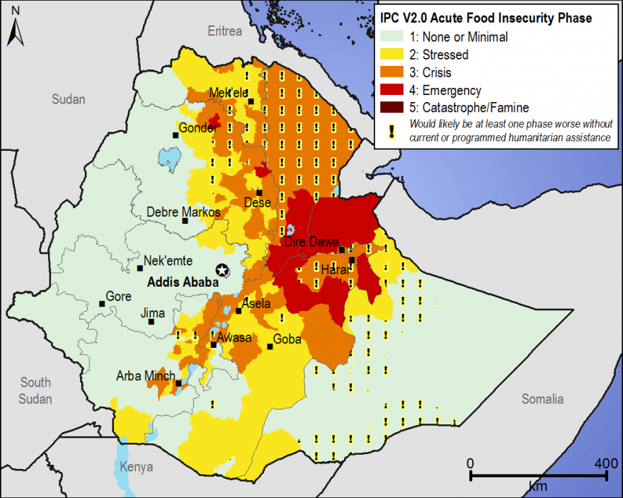 Current food security outcomes, February 2016