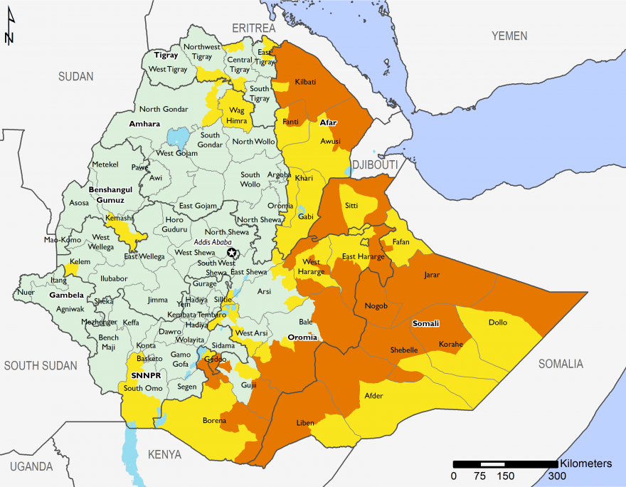 Ethiopia   Famine Early Warning Systems Network