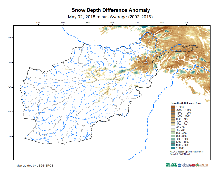 Snow depth difference from average in mm on May 02, 2018 (2002-2016 average).