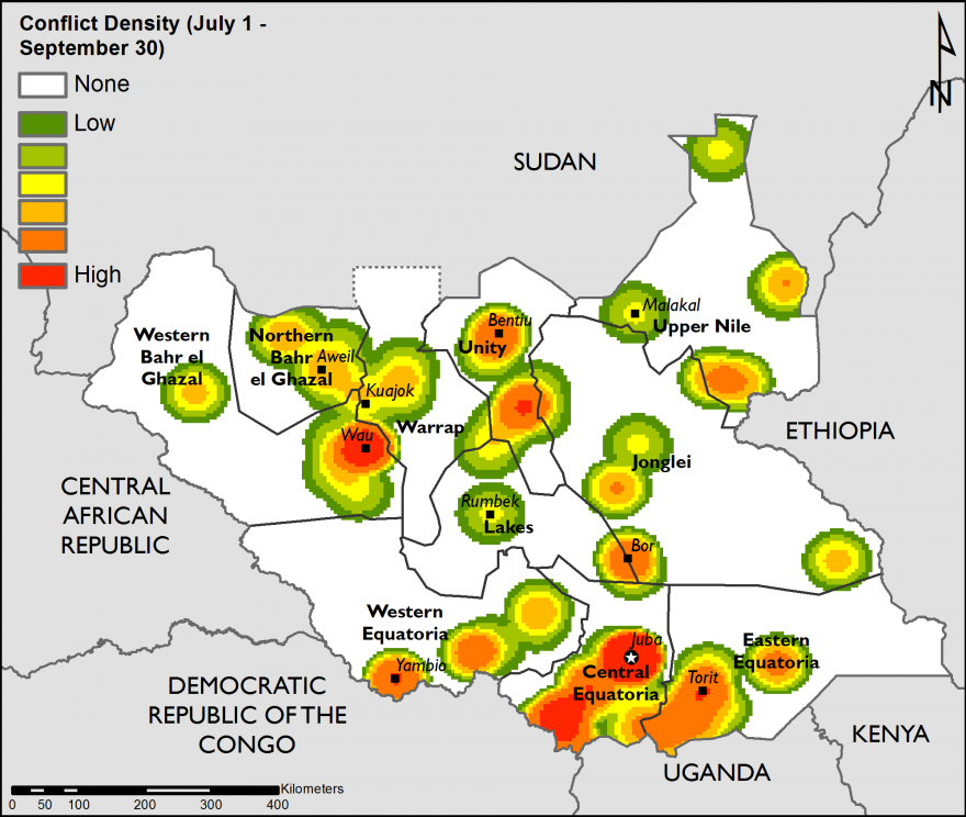 South Sudan Food Security Outlook Mon 20161031 to Wed 201705