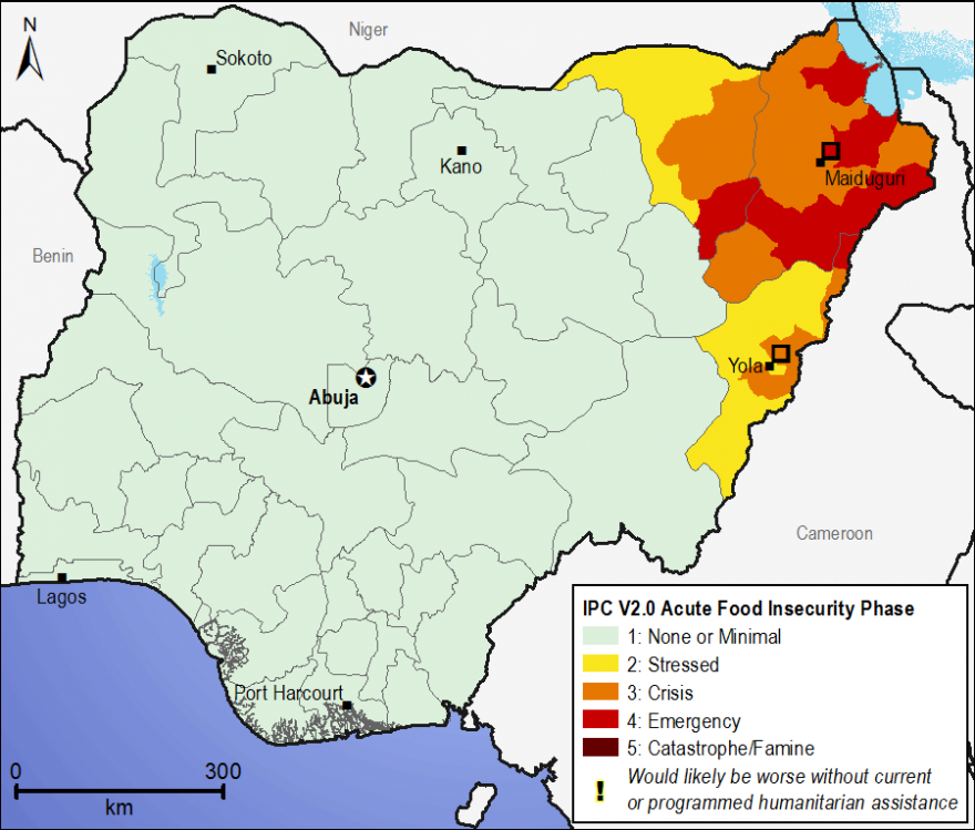 Current food security outcomes, July 2015