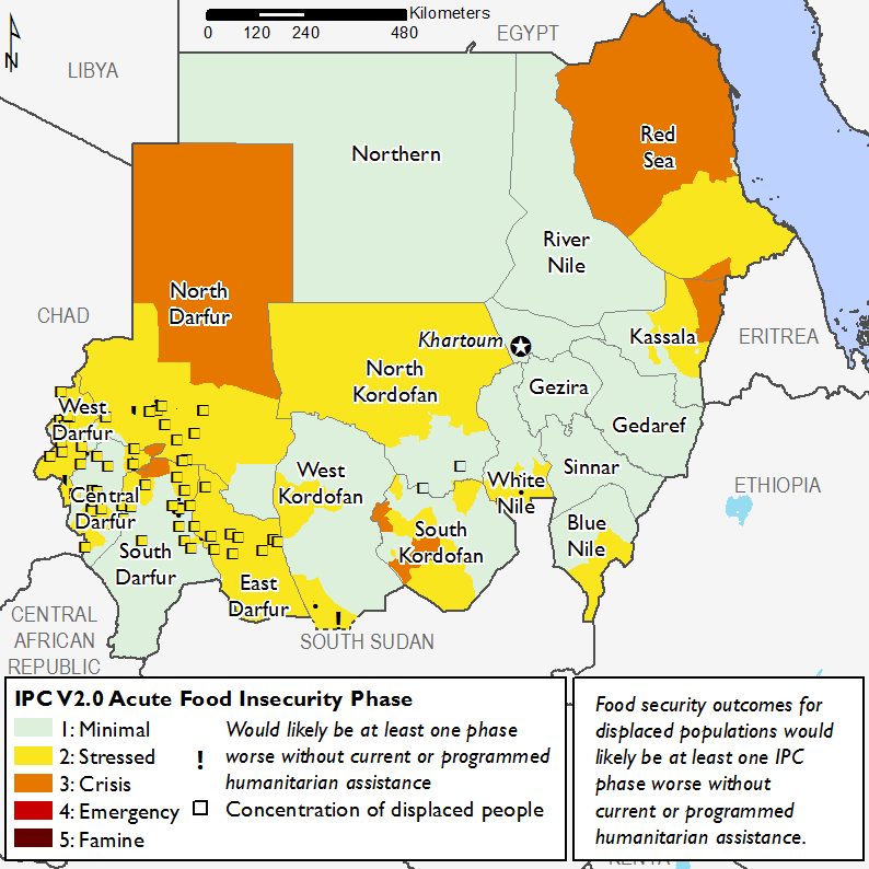 Current food security outcomes, October 2017