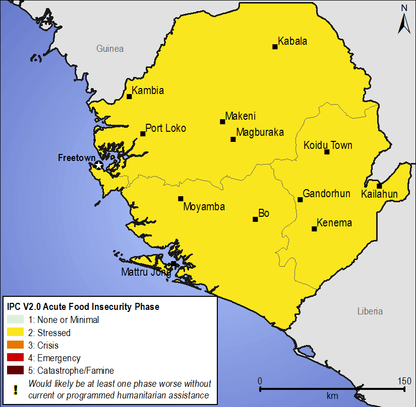 sierra leones position on food insecurity Received over twenty million leones witness about the presence of some liberian fighters who were among other fighters in sierra booted out of his position.