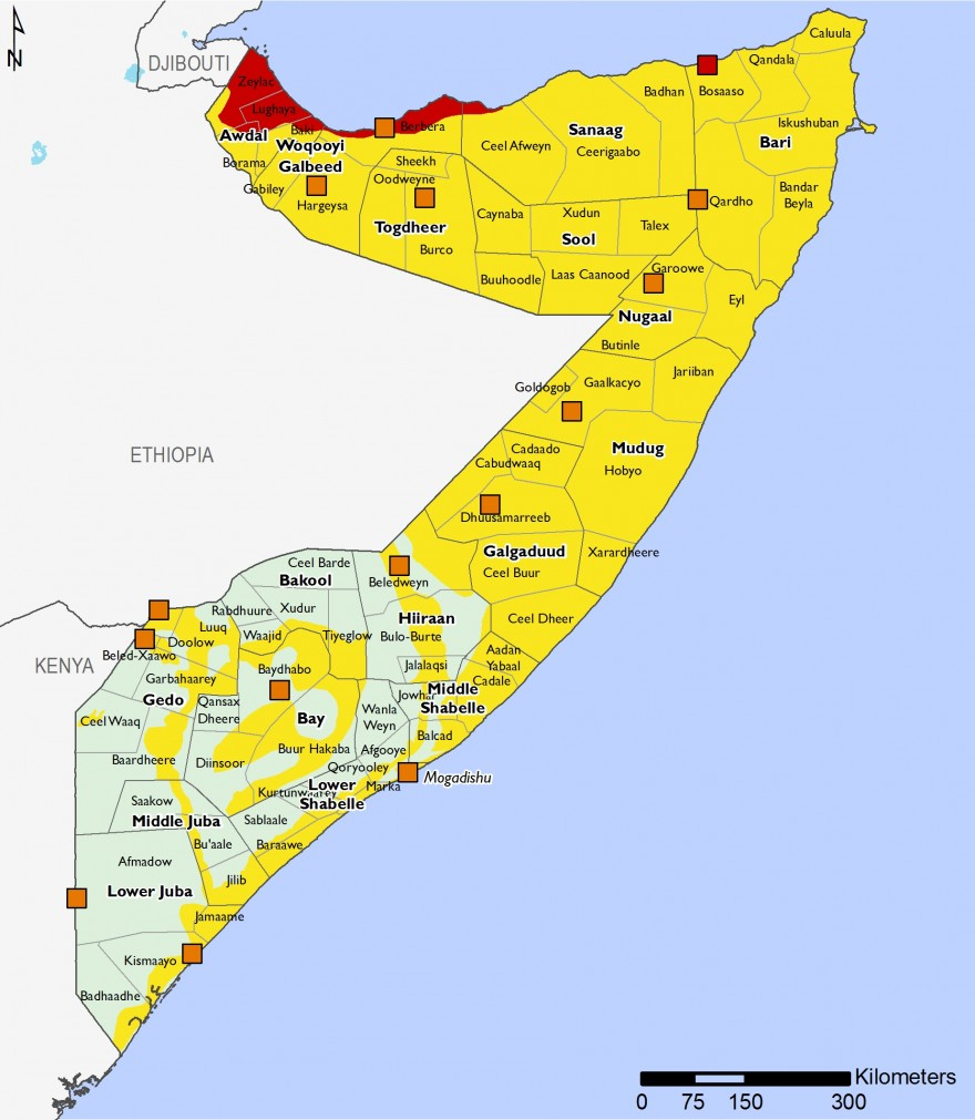 Somalia - Food Security Outlook: Fri, 2018-06-29 to Tue