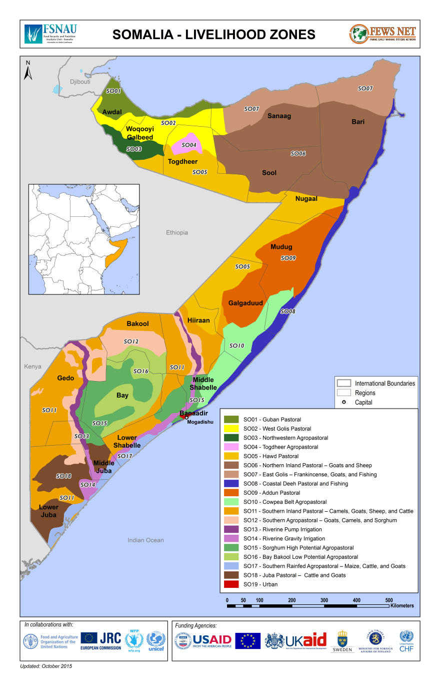 Somalia Famine Early Warning Systems Network
