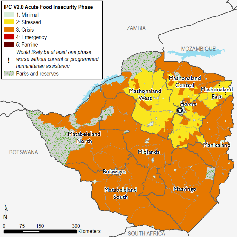 Current food security outcomes, December 2018