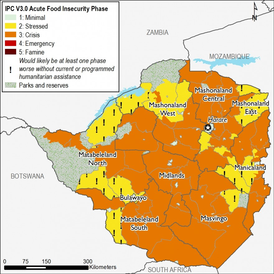 Current food security outcomes, February 2019