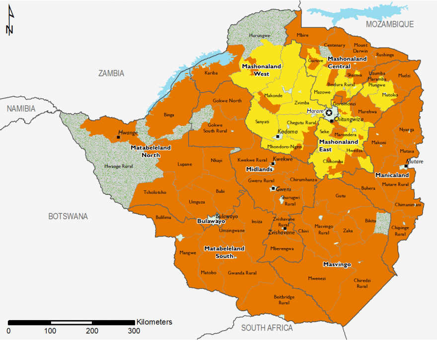 Zimbabwe - Food Security Outlook: Fri, 2018-12-14 to Tue
