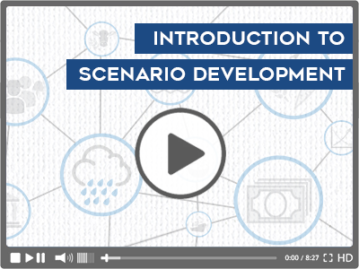 Scenario development video