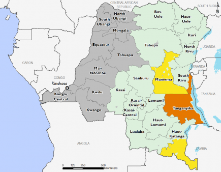 Democratic Republic of Congo February 2017 Food Security Projections for June to September