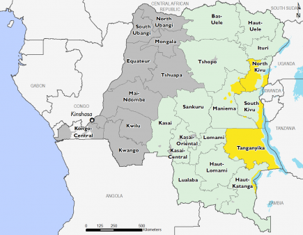 Democratic Republic of Congo October 2016 Food Security Projections for February to May