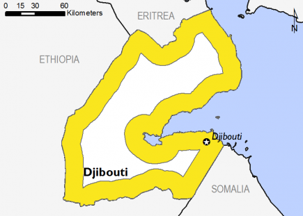 Djibouti August 2016 Food Security Projections for October to January