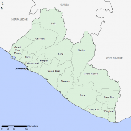 Liberia October 2016 Food Security Projections for October to January