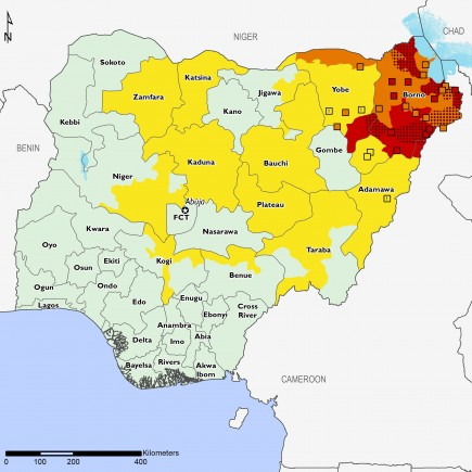 Nigeria projections Feb - May 2018