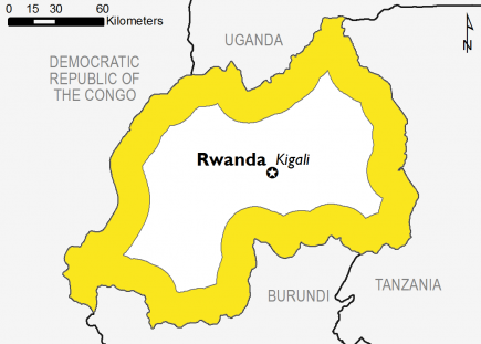 Rwanda February 2017 Food Security Projections for February to May