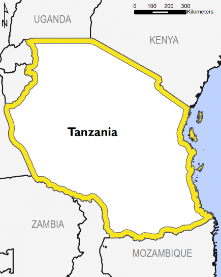 Tanzania April 2016 Food Security Projections for April to May